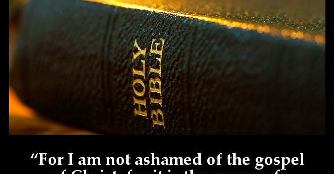 The necessity of the Gospel