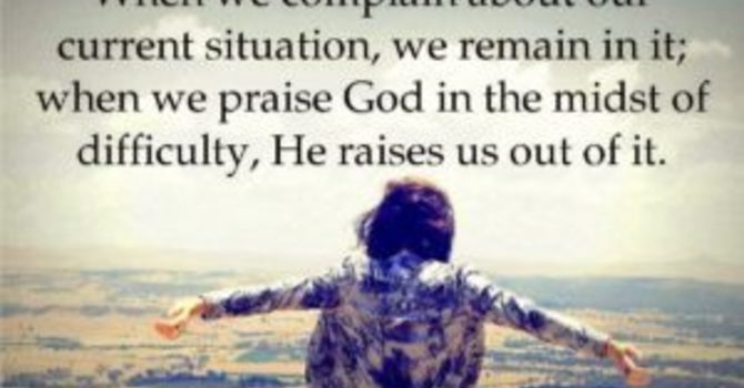 TESTED BY OUR PRAISE… image