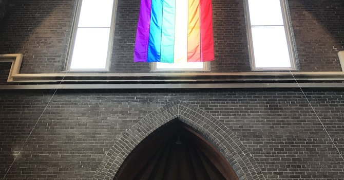 Our Pride Flag is Up