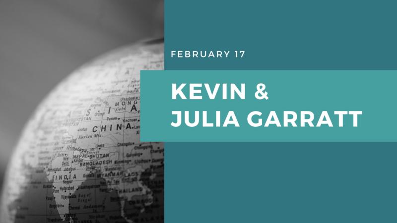Kevin And Julia Garratt