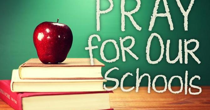 Pray for Our Schools Aug 30! image