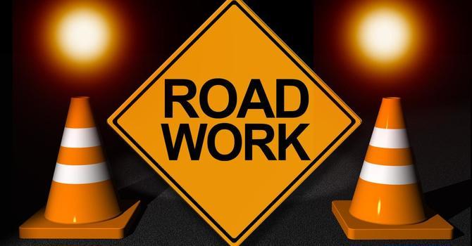 Road Work on Oceola Road image