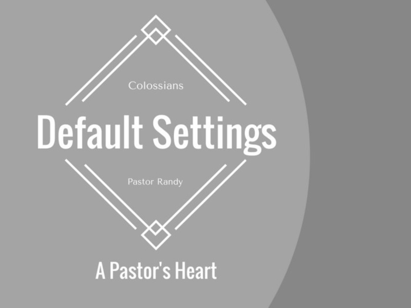 A Pastor's Heart
