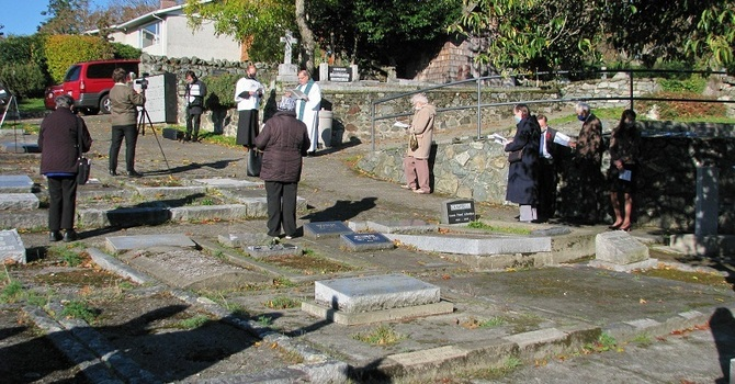 A Time of Remembrance in St. Luke's Cemetery image