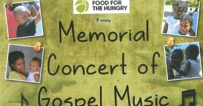 Gospel Concert for Haiti Partnership
