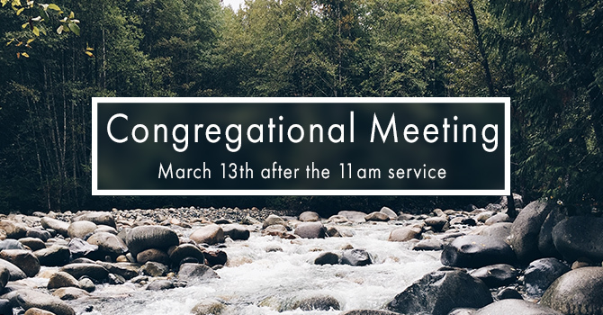 Congregational Meeting image