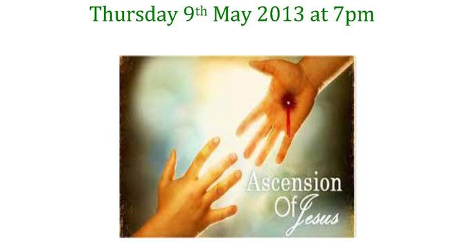Ascension Day at SJS image