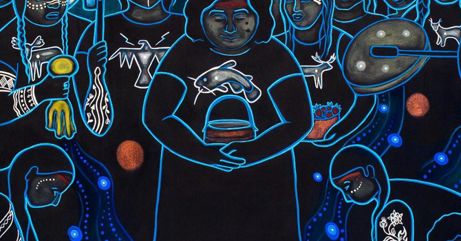 Art and Soul for Lent Day 30 - Water Protectors