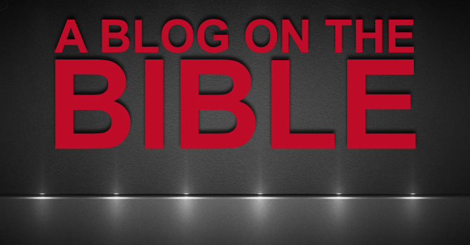 A Blog on the Bible image