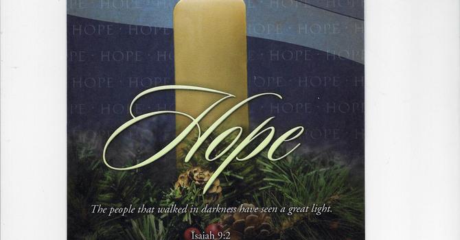 Karen Hollis Sermon – Luke 21:25-36 December 2, 2018  First Sunday of Advent image
