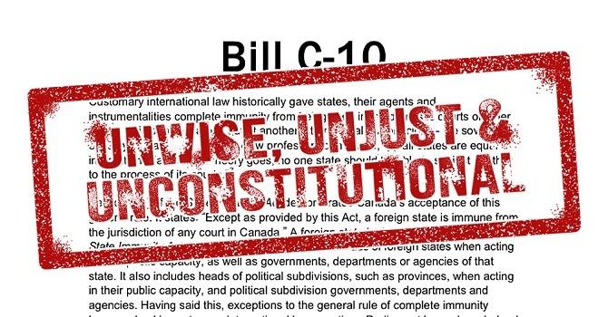 Bill C-10 Court Challenge
