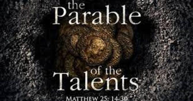 Gospel of Matthew 25: 14-30 image