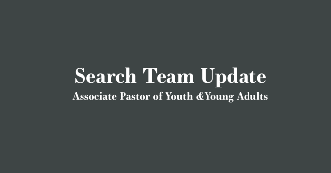 Search Team Update image