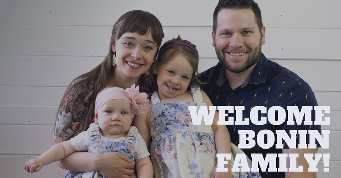 Welcome Pastor Adrian & Family! image