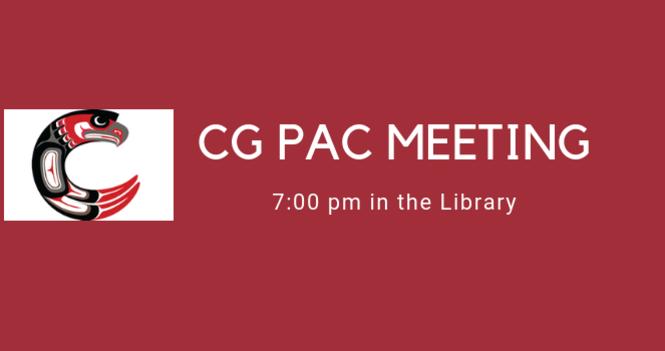 CG PAC Meeting