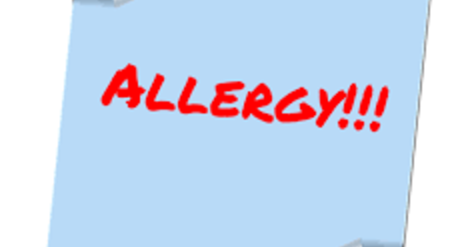 Did you know that we have an allergy policy? image