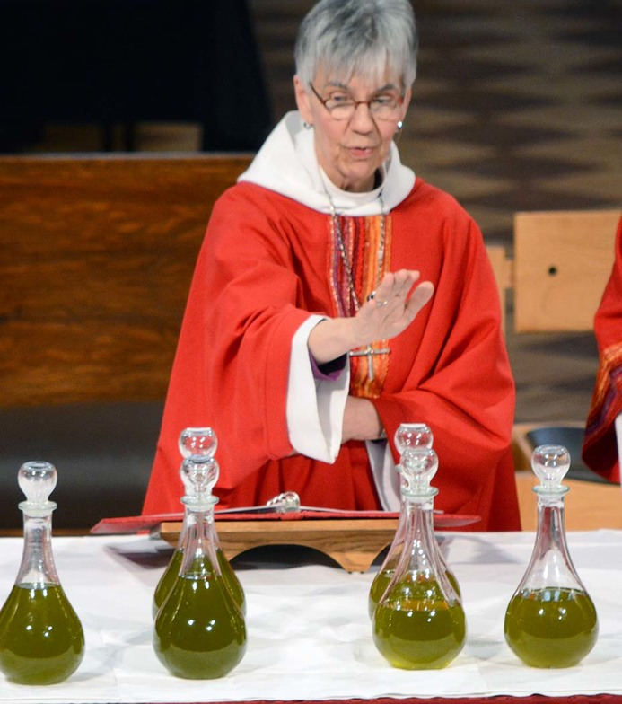Blessing of Holy Oils - Reaffirmation of Vows | The Diocese