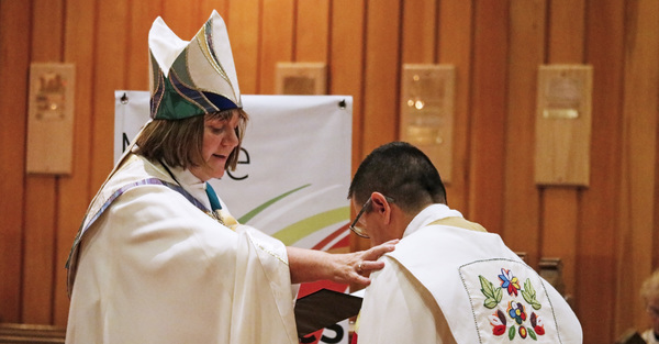 Bishop collates Archdeacon for Indigenous Ministries