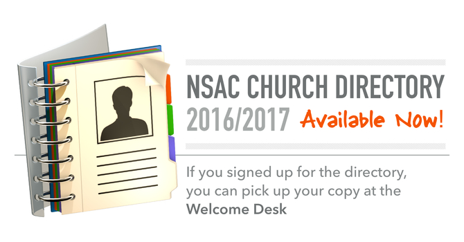 Church Directory is Now Available image