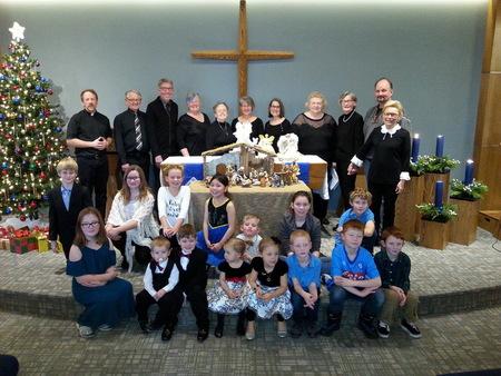 Sunday School and Choir Christmas Presentation