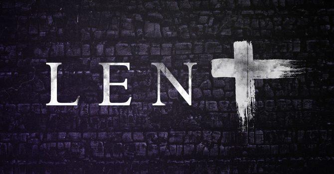 The Season Of Lent image