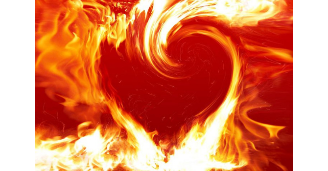 How's the Fire in your heart?