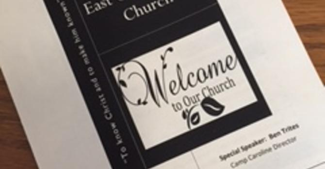 November 5, 2017 Church Bulletin image