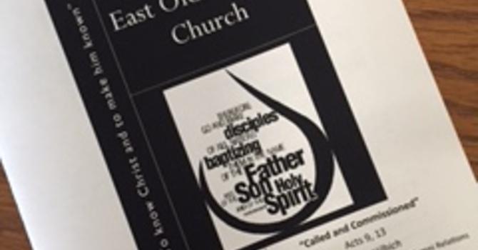 October 22, 2017 Church Bulletin image