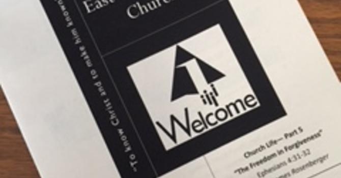 October 15, 2017 Church Bulletin image