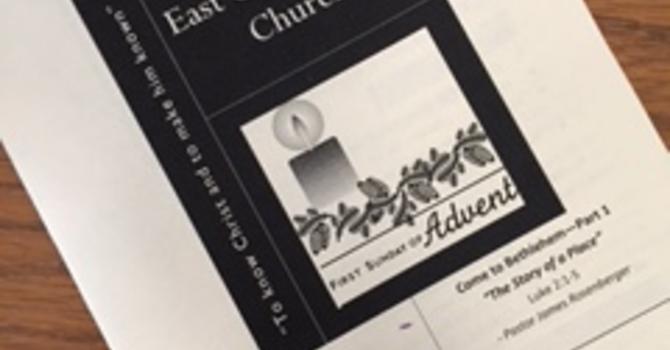 December 3, 2017 Church Bulletin image
