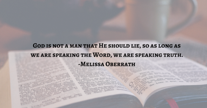 Faith Speaks God's Truth