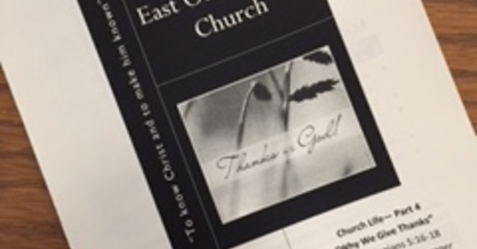 October 8, 2017 Church Bulletin image