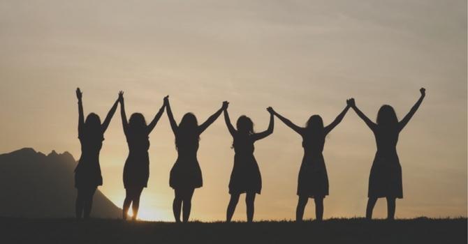 NEW!!  Women's Ministry Bulletin Board image