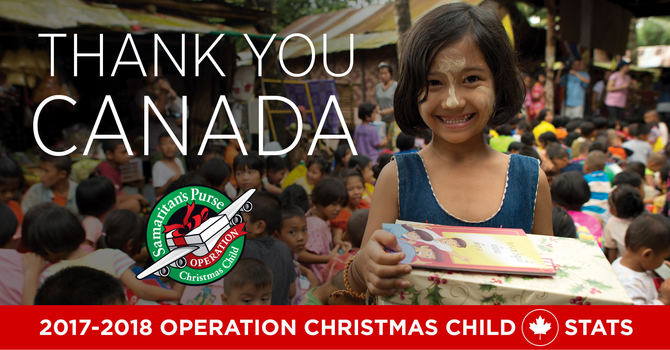 Operation Christmas Child - Thank You! image