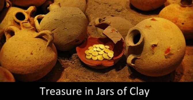 Treasures in Jays of Clay