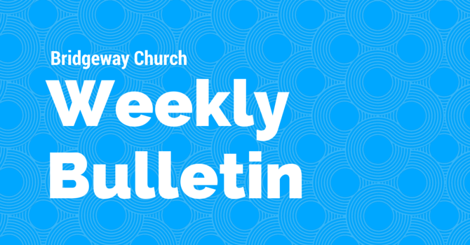 Bulletin August 28, 2016 image