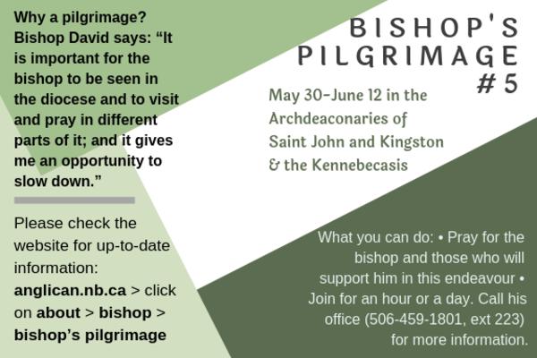 Bishop's Pilgrimage is getting close!