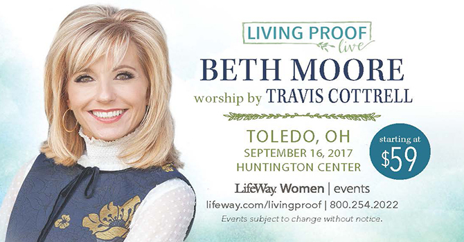Beth Moore Living Proof Event image