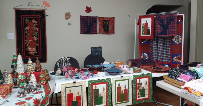 Quilt & Bake Sale for Missions image