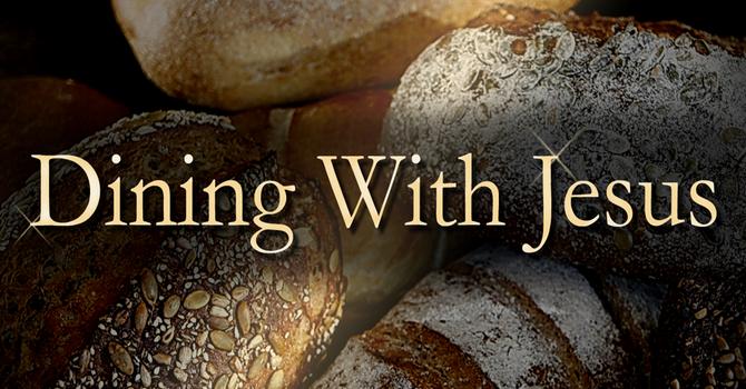 Dining with Jesus image