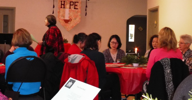 Women to Women Christmas Tea image
