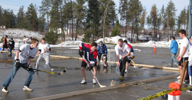 Men's Breakfast and Floor Hockey image