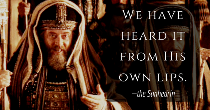 We Have Heard it from His Own Lips — Holy Thursday