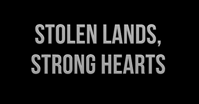 Stolen Lands, Strong Hearts: Lenten study for parishes image