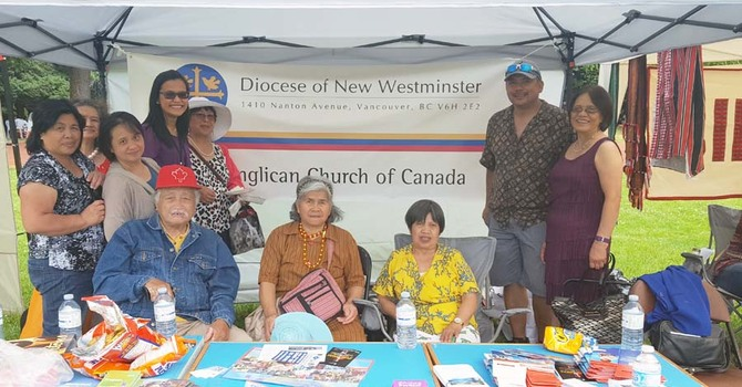 Diocese of New Westminster Presence at Pista ng Bayan