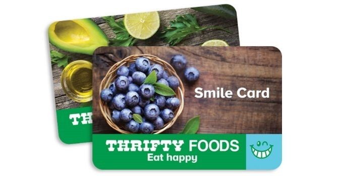 Thrifty Smile Cards