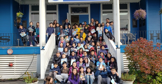 Vancouver Christian School visits Seafarers Centre image