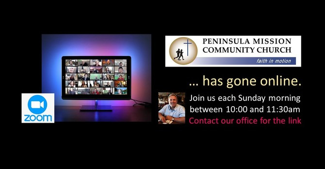 JOIN US ON ZOOM each Sunday from 10 - 11:30 am image