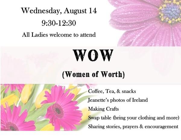 WOW Women's Ministry