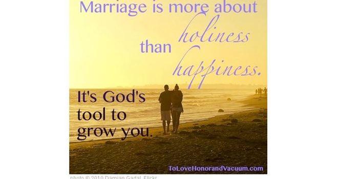 婚姻与成圣